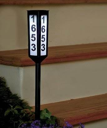 24&#8243 Solar Address Stake GetSet2Save