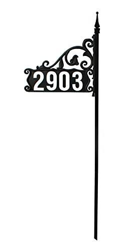 New 2016 Boardwalk Super Reflective 911 Home Address Sign For Yard &#8211