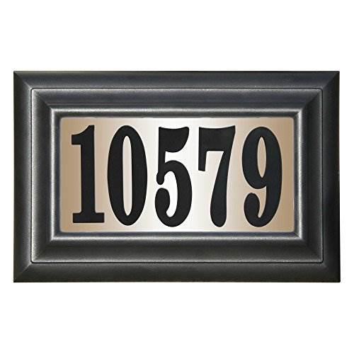 QualArc Edgewood Classic DIY Lighted Address Plaque