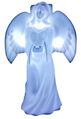 Solar Lighted Angel By Eternal Light Memorial Decoration Statue For Your Loved