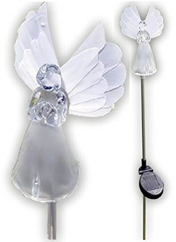 Solar Wholesale 1033-2 Solar Angel Lights Garden Stakes (Box Of 2 Units)