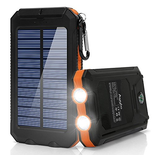 Ayyie Solar Charger10000 MAh Solar Power Bank Portable Charger